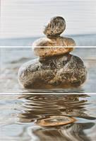 Декор-панно Дуал Грес Сет Баланс 675*450 Dual Gres Set Balance плитка настенная для гостинной.