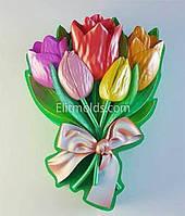 Силиконовая форма Букет тюльпанов 1