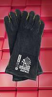 Защитные перчатки RSPBIZINDIANEX. Перчатки для сварщиков спилковые, фото 1