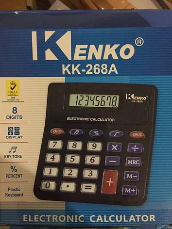 Калькулятор Kenko bk-268, фото 2