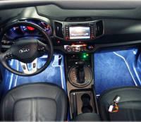 Комплексная подсветка салона авто