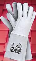 Защитные перчатки RSPL+. Перчатки для сварщиков спилковые, фото 1