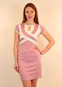 Платье-футляр с вырезом капля 42-48 р