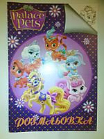 Раскраска Palace Pets А4