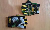 Тактические беспалые перчатки Mechanix , цвет камо