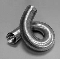 Труба вентиляционная алюминий  D= 135 120 мк 3 м