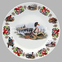 Тарелка декоративная «Охота. Утки», d-18 см.