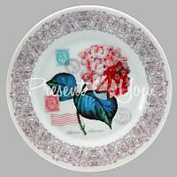 Тарелка декоративная «Прованс. Гортензия», d-18 см.