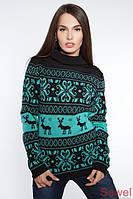 Женские молодежные свитера.