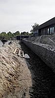 Укрепление берега габионами, фото 1