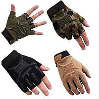 Тактические беспалые перчатки Mechanix , цвет черный