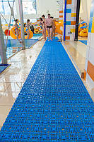 Модульное антискользящее покрытие для бассейнов, аквапарков и саун от производителя