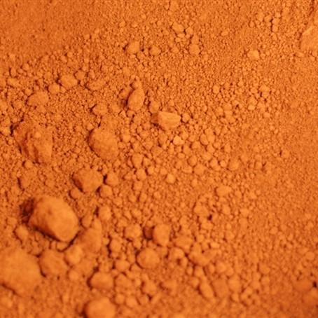 Помаранчевий залізоокисний неорганічний пігмент. Пигмент для бетона, тротуарной плитки, расшивки.