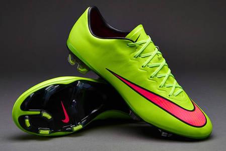 Бутсы Nike Mercurial Vapor X FG 648553-360 Салатовые, Найк меркуриал  (Оригинал) 388a3b8af03