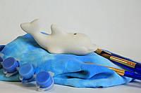 Детские товары для творчества. Дельфин 12см.