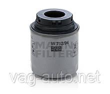 Фільтр масляний Skoda Rapid 1,2 TSI, 1.4 TSI, 1.6 MPI