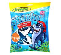 """Жевательные конфеты """"Sharks"""" Woogie, 500 г"""