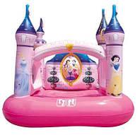 Bestway 91050 Игровой центр- батут Disney Замок Princess 157х147х163 см