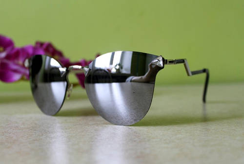 Солнцезащитные очки Fendi Iridia (серебро)  продажа, цена в ... c5ef5a165c6