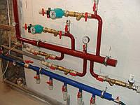 Монтаж водоснабжения, канализации и теплого пола
