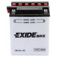 Мото аккумулятор EXIDE YB14L-A2