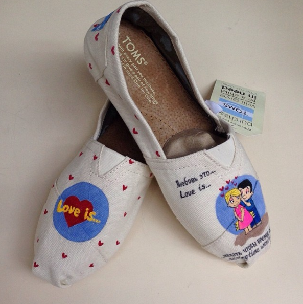 TOMS Love Is By @Abramkina