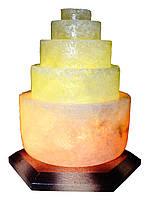 Соляная лампа Пагода круглая 3-4 кг