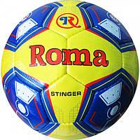 Мяч футбольный. М'яч футбольний  Ламин.-PU Сшит вручную ROMA (№5, 5 сл.)