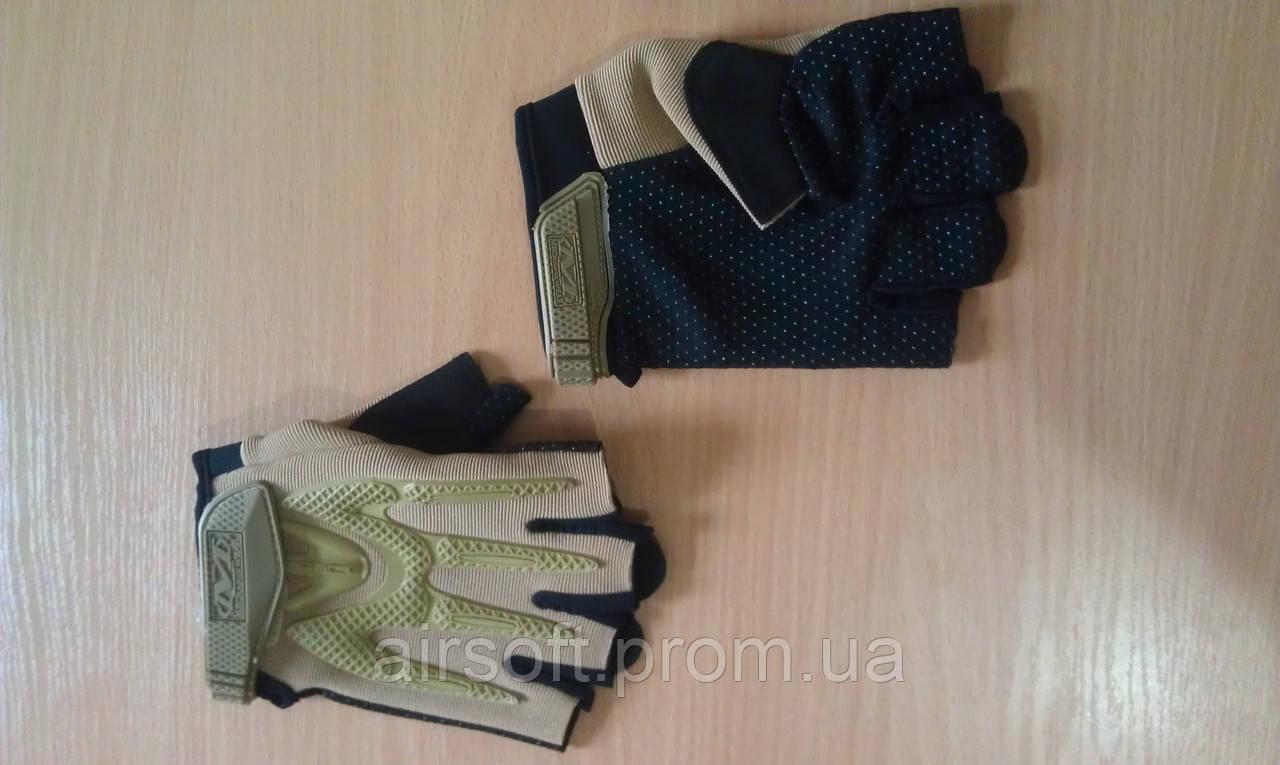 Тактические перчатки Mechanix (реплика), цвет тан, Размер М