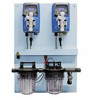 Автоматическая система дозирования Emec в сборе, производительностью Ph 6л  и Cl 6л  в час (до 100 m3)