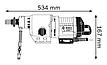 Дрель алмазного сверления Bosch GDB 350 WE, фото 4
