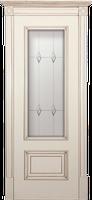 Белорусские двери Йорк ваниль с античным золотом