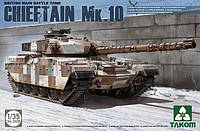Британский танк ' CHIEFTAIN  Mk.10 '    1\35  TAKOM