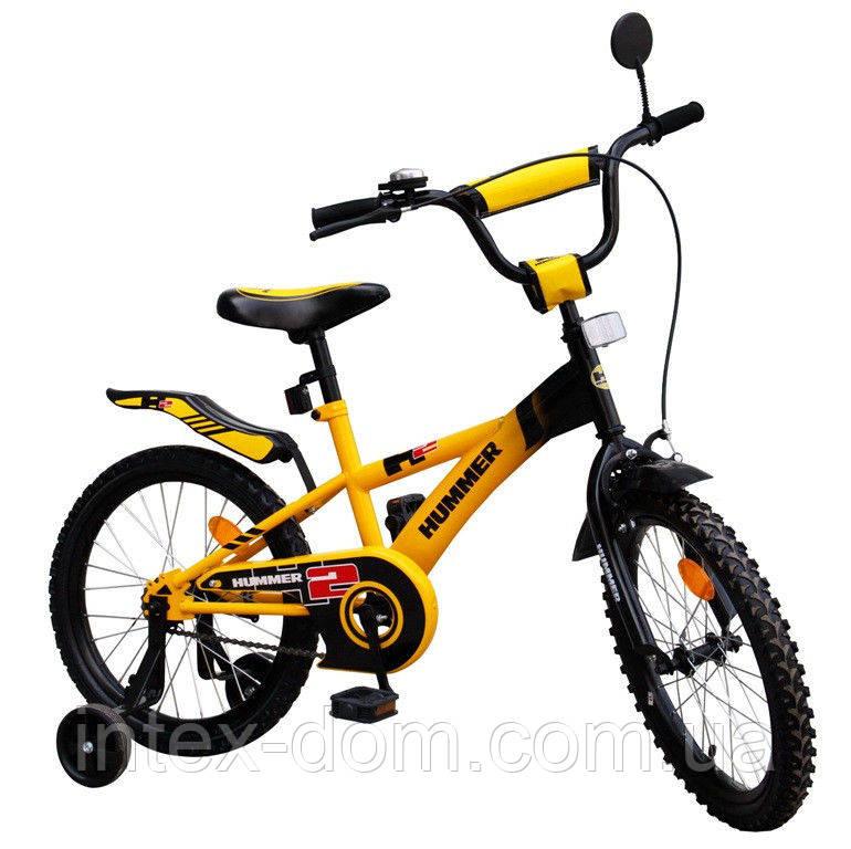 """Детский Велосипед """"Hummer"""" 111809 2-х колесный 18 дюймовые колеса"""