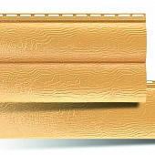 Сайдинг под брус BlockHouse золотистый однопереломный