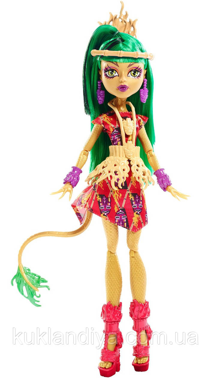 Кукла Monster High Джинафаер Лонг Монстры в бегах