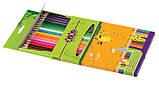 Олівці кольорові STANDARD ZiBi 12кол, фото 2