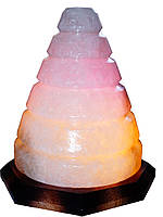 Соляной светильник Конус , вес 5кг