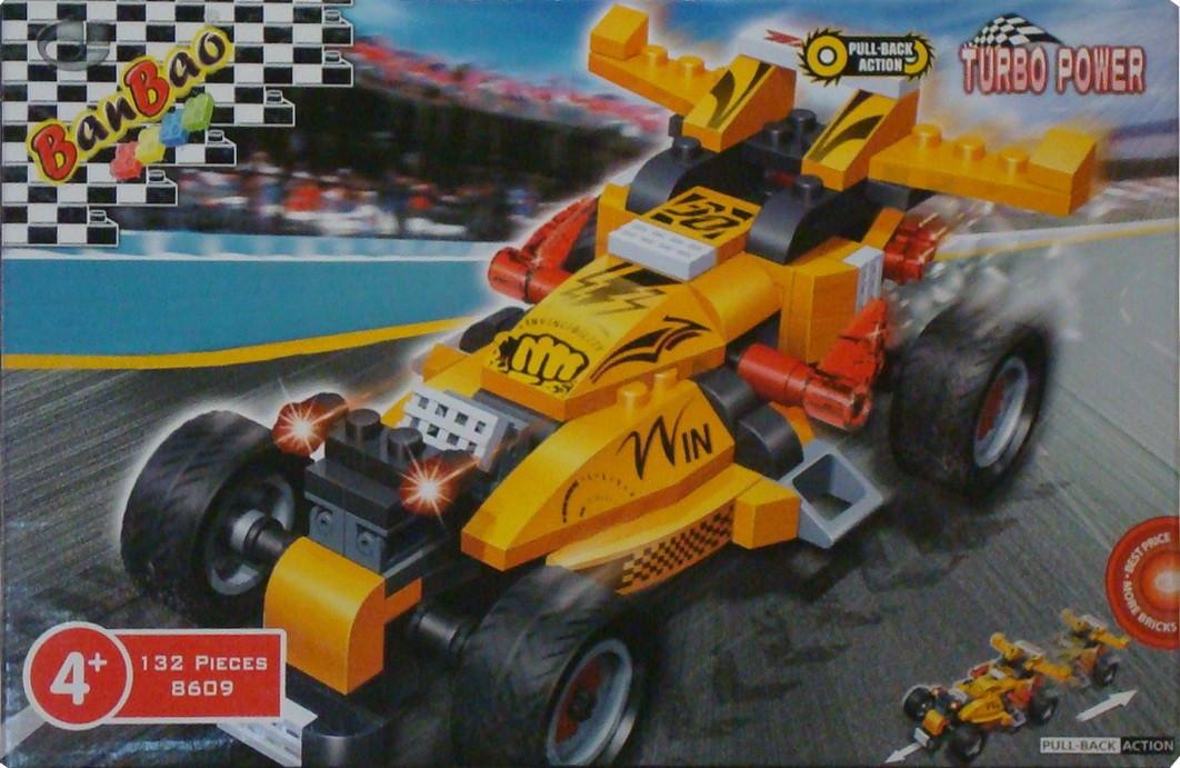 Ban Bao гоночный автомобиль конструктор 8609