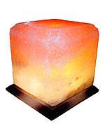 Соляная лампа, светильник Квадрат 8-10 кг.