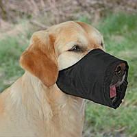 Trixie Намордник для собак для кратковременного использования, черный