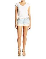 Светлые рваные шорты Jessica Simpson, фото 1