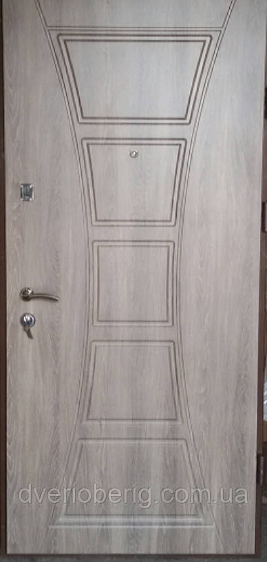Входная дверь модель П5-6996 дуб кедбери