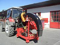 Деревоподрібнююча машина навісна для кругляка діаметром 270 мм