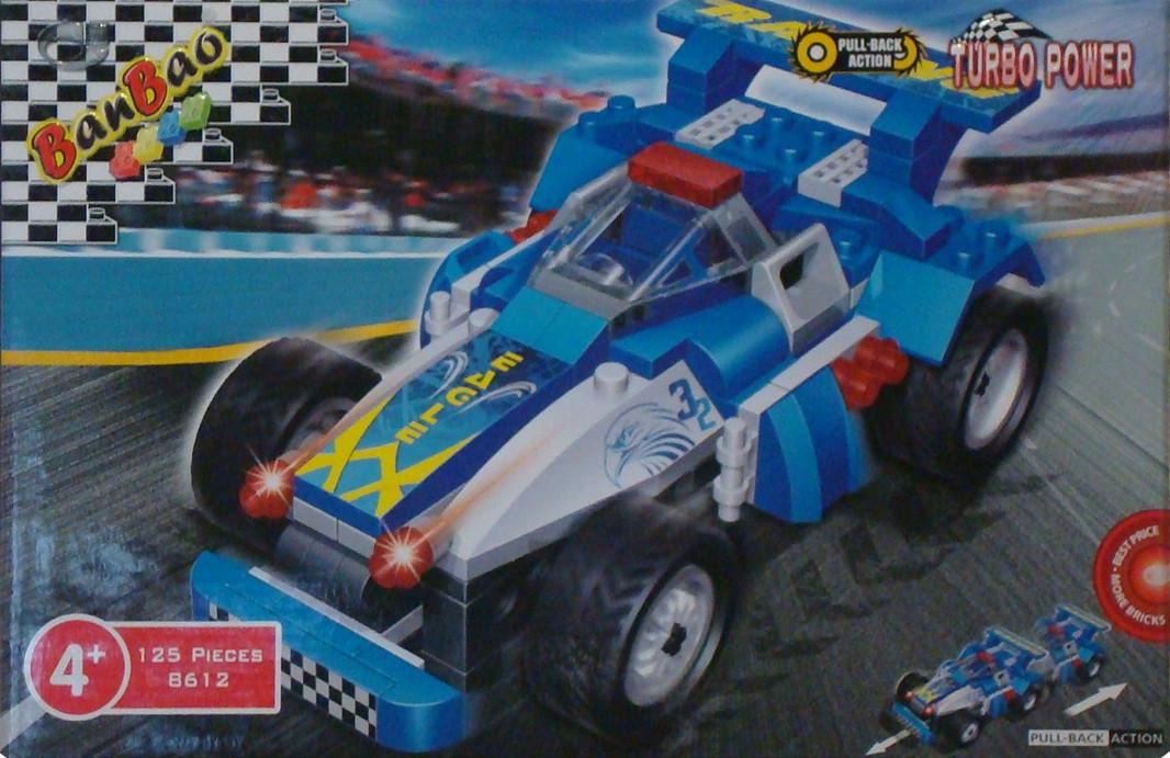 Конструктор Ban Bao гоночный автомобиль 8612