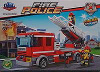 Пожарная машина конструктор 98205