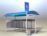 Автобусная остановка модель №1