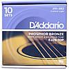 Струны D'Addario EJ26-10P Phosphor Bronze 11-52 10 sets