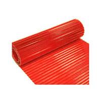 Шифер волновой в рулоне прозрачный красный