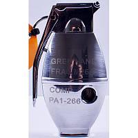 Зажигалка газовая Граната №4457-1, зажигалки, сувенирные подарки, зажигалка граната, оригинальные зажигалки